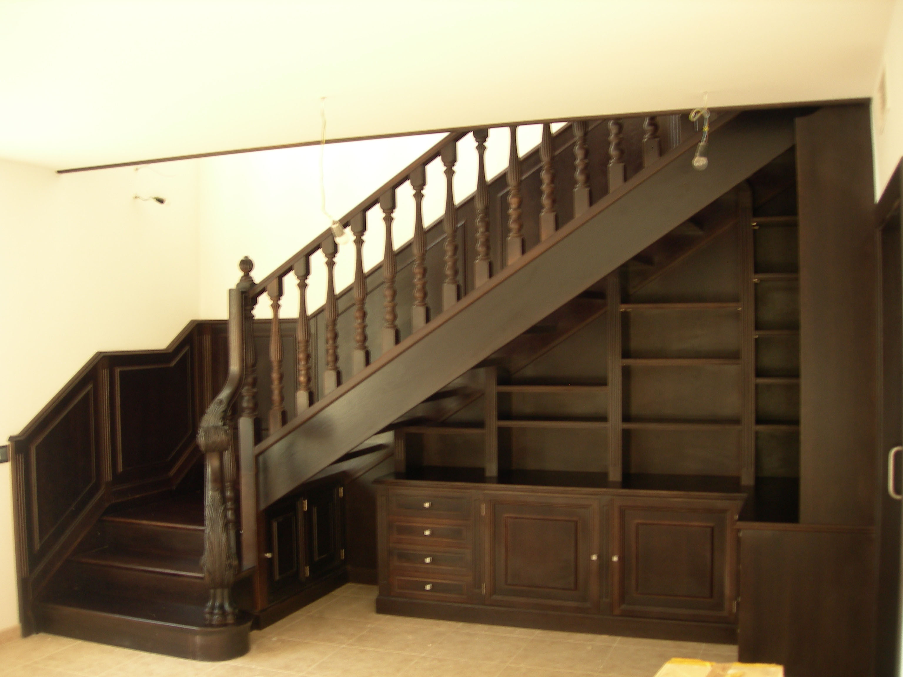 Escaleras para librerias interesting resulta muy - Librerias con escalera ...